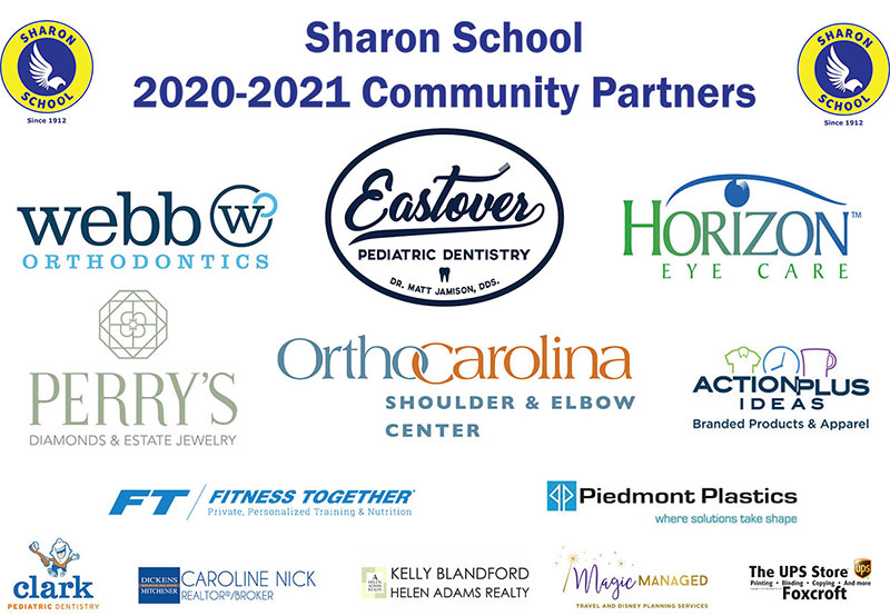Sharon School 2020-2021 Community Partners